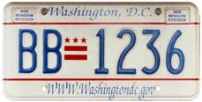 2001 optional plate no. BB-1236