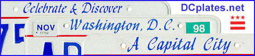 Collage of three D.C. plates; link to home page.