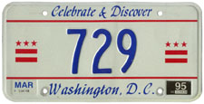1994 reserved plate no. 729