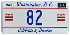 2000 reserved plate no. 82