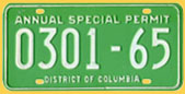 Annual Special Hauling Permit no. 0301-65