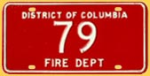 Fire Dept. plate no. 79